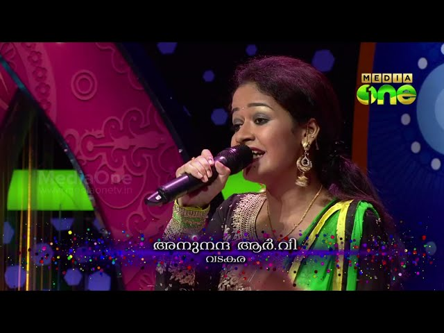 Pathinalam Ravu Season3 Anu Nanda singing 'Alhamdudayon amarale..' (Epi78 Part3)