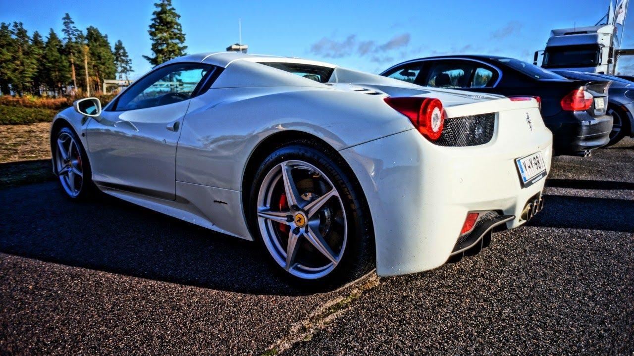 Drag Race Ferrari 458 Spider Vs Mercedes Sls Amg Lumma Bmw X6m Gallardo R8 And More Youtube
