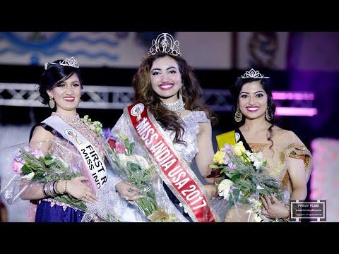 Shree Saini from Washington has been crowned Miss India USA 2017