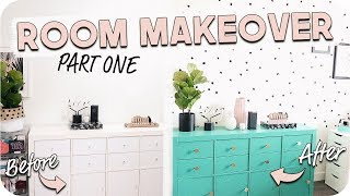 Room Makeover 2018! | Part One