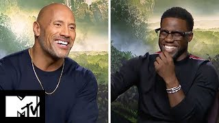 The Jumanji Cast Reveal FUNNIEST Moments | MTV Movies