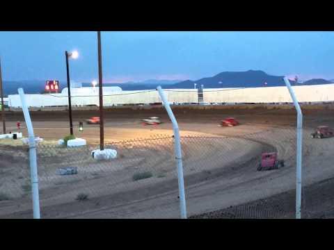 DDCC DWARF CARS HEAT #2 AT USA RACEWAY 6/27/15