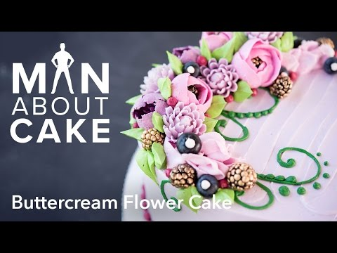 (man about) Buttercream Flowers | Man About Cake with Joshua John Russell