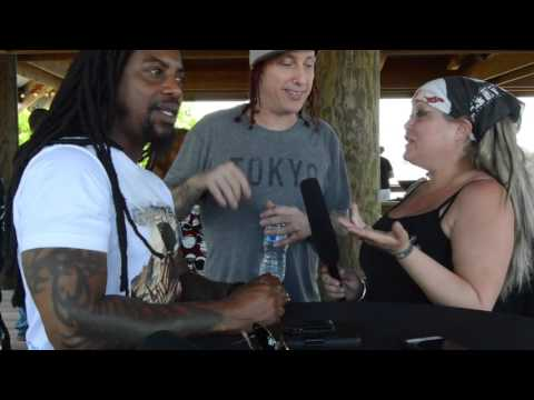 Sevendust Interview at Rockville 2016 by Evie Star