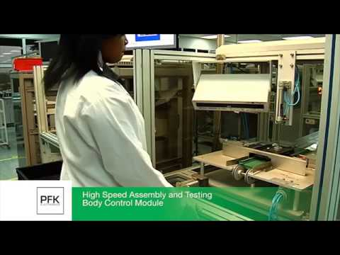 Overview of manufacturing facilities at PFK Electronics