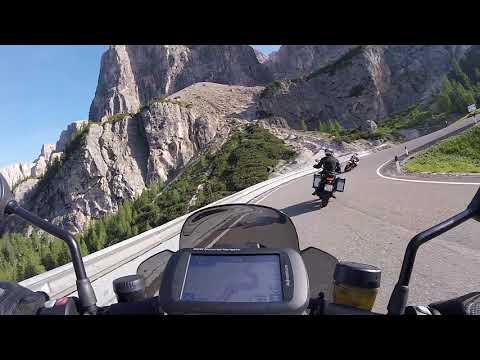 Yamaha XTZE Super Ténéré vs BMW KR | Großenduro vs Naked Bike | onboard only action (HD)