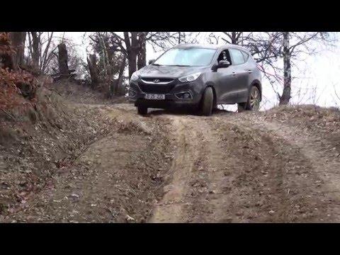 Hyundai ix35 in Prundu Bargaului jud. Bistrita Nasaud offroad jurney