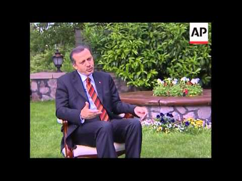 Exclusive interview with Erdogan ahead of visit to US
