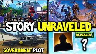 "*NEW* Fortnite OMEGA'S SEASON 4 STORY LINE EXPLAINED ""GOVERNMENT PLOT"" + BLOCKBUSTER SKIN REVEAL?!"