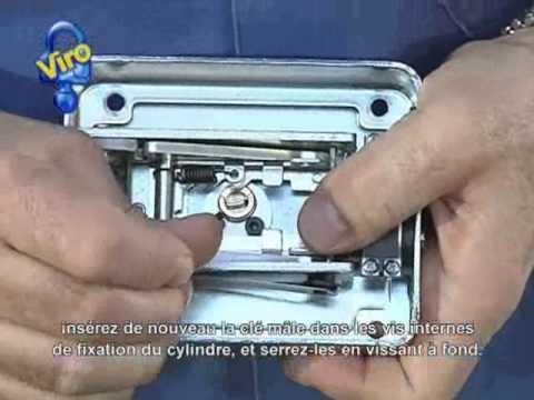 Serrure électrique V9083 Sur Grille Pour Piétons