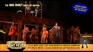 Saturday Night Fever The Musical Malaysia 2015