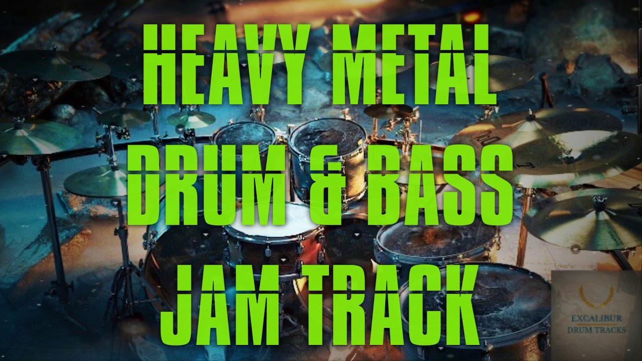 heavy metal drum bass jam track youtube. Black Bedroom Furniture Sets. Home Design Ideas