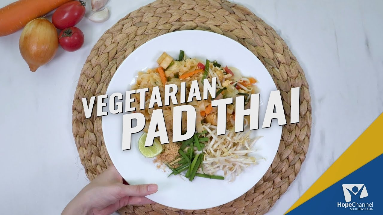 Vegetarian Pad Thai | Ready, Set... Cook!