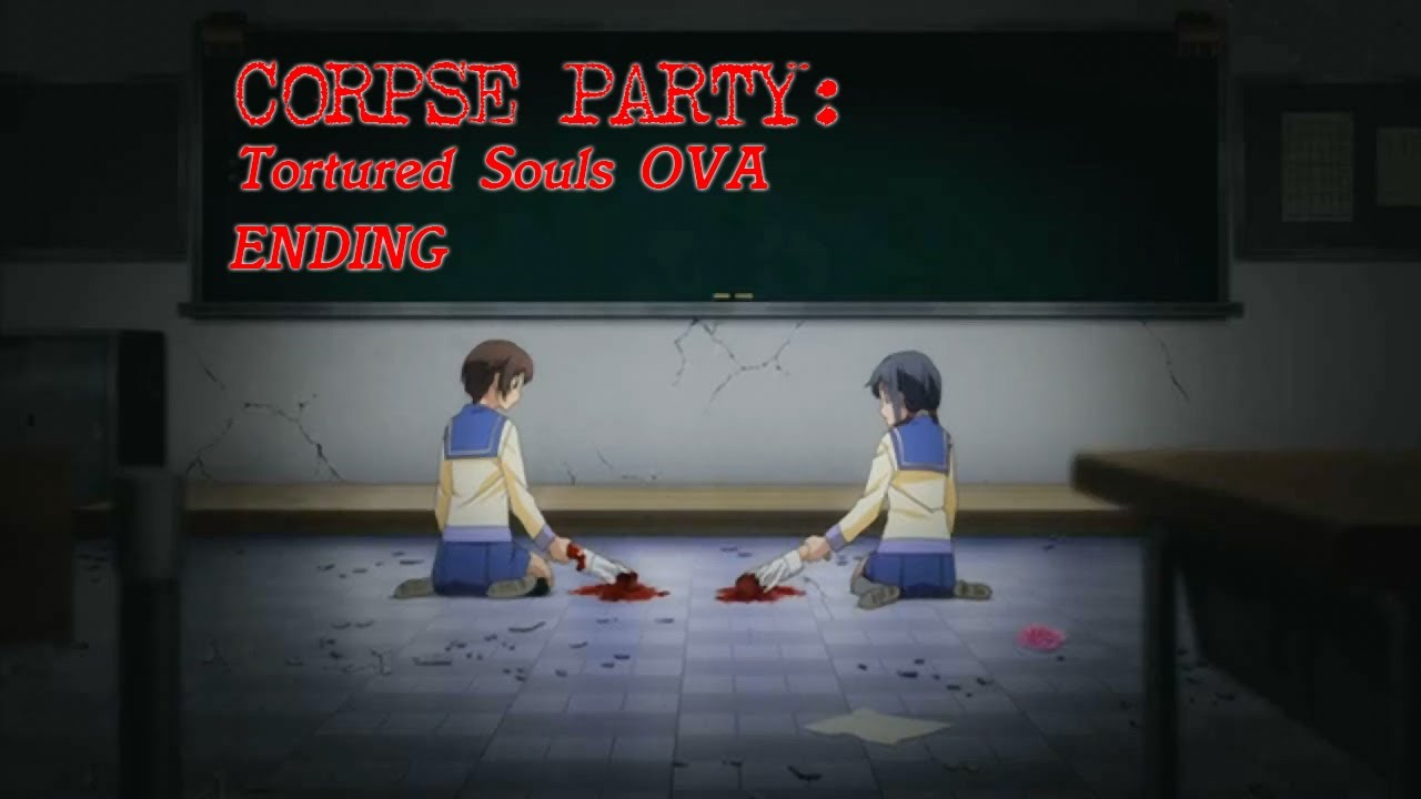 Corpse Party Tortured Souls Ova Ending With Wrong End Animation