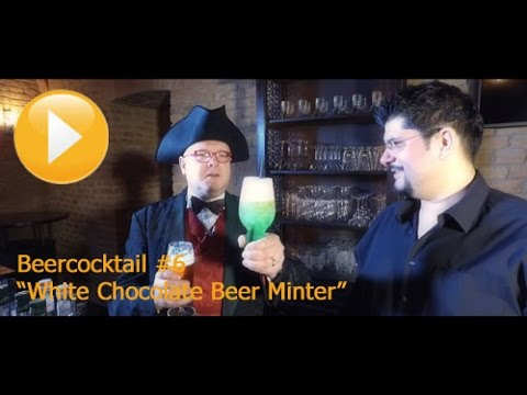 """#144 """"Beercocktail #6 / White Chocolate Beer Minter"""" - English"""