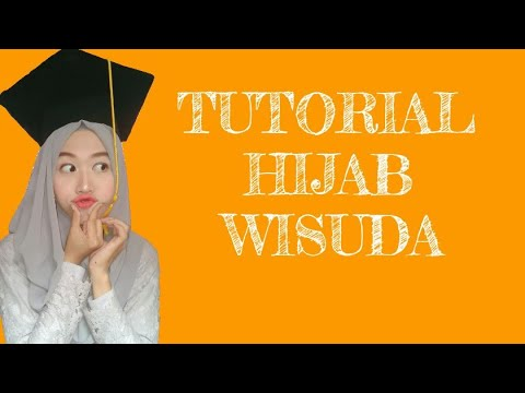 Tutorial hijab pashmina for bridemaids..