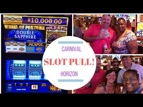 $800 Group Slot Pull!! Cruise Ship Slot Pull 🎰 ~ Wheel Of Fortune Featuring Gold Bonus Spin