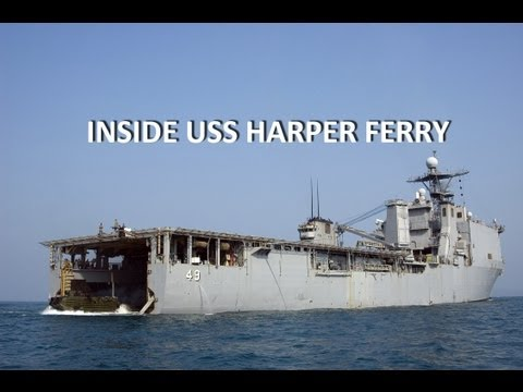 INSIDE USS HARPERS FERRY