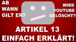 Artikel 13 ist durch: Wir erklären, was jetzt passiert!