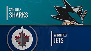 виннипег Джетс - Сан-Хосе Шаркс  НХЛ обзор матчей 27.11.2019  Winnipeg Jets vs San Jose Sharks