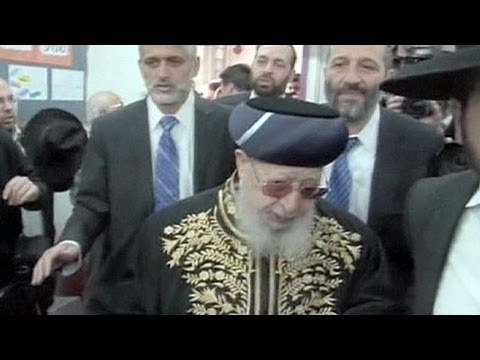 Israel's Sephardic holy leader Rabbi Ovadia Yosef dies at age of 93