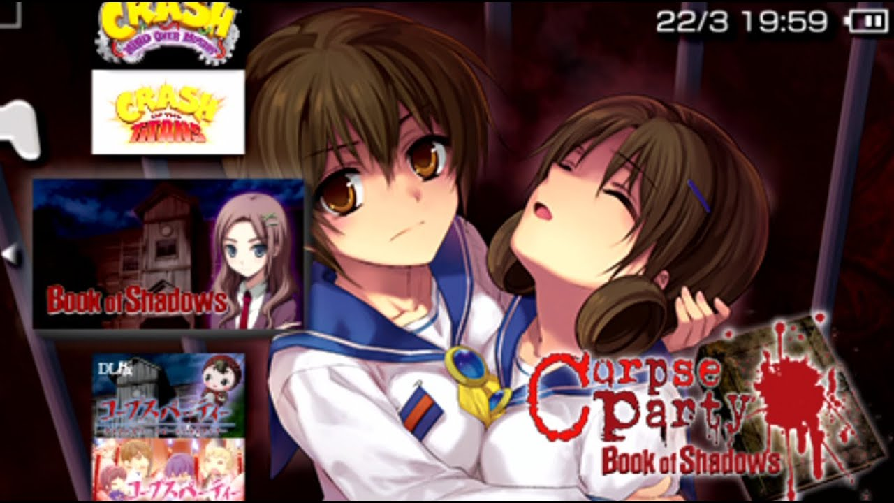 Corpse Party Book Of Shadows Playstation Vita Psp Youtube