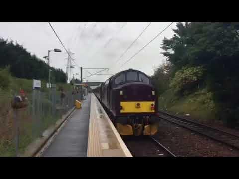Steam Train at Brunstane 26th August 2018