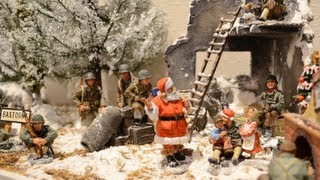 White Christmas lyrics & Video-WWII Battle of Bulge, Ardennes Forest 1944 Toy Soldiers
