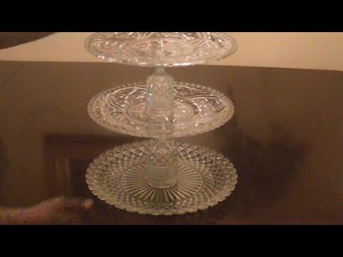DIY Elegant Three Minute Cupcake Stand