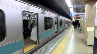Repeat youtube video 東京メトロ千代田線 赤坂駅(TBS前) E233系2000番台 代々木上原行き