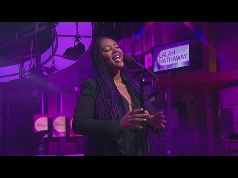 "Lalah Hathaway performs ""Angel"" on Good Day LA"