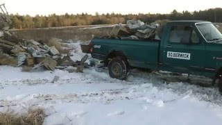 Redneck dump truck fail... 1985 Ford F-150