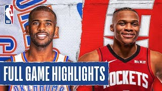 THUNDER at ROCKETS | FULL GAME HIGHLIGHTS | January 20, 2020