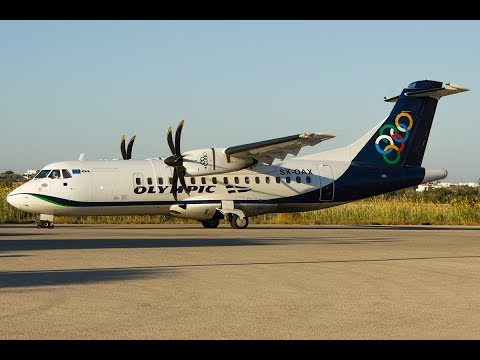 *TRIPREPORT* Olympic Island hopping | JNX - ATH - HAM | Aegean Airlines | Olympic Air
