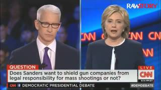 2016 Debate: Dem candidates talk guns
