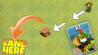 """USE This Trap is For JUMPING!! """"Clash Of Clans"""" Troll games!"""