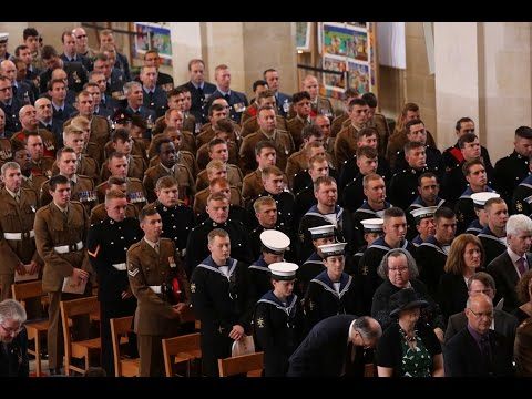 Armed Forces Day: Guildford Cathedral