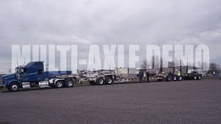 Multi Axle Demo - Unstacking - Time Lapse
