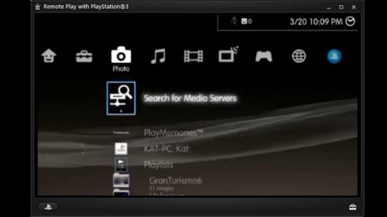 برنامج remote play ps3