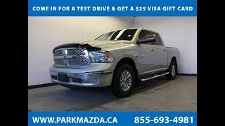 SILVER 2014 Ram 1500  Review Sherwood Park Alberta - Park Mazda