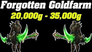 Legion: 20,000g - 35,000g Forgotten Goldfarm | WoW Gold Farming Guide |