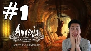 Amnesia A Machine For Pigs Walkthrough Part 1 Gameplay Review Lets Play Playthrough PC [HD]