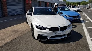 AMAZING TRACK CAR! BMW M4 Competition Pack Track Day Oulton Park Race Tack