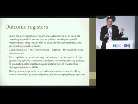 London 2013 - How registries can ignite improvement - Robin Burgess