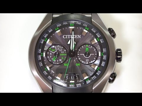 Citizen Eco Drive Satellite Wave Air Gps Eco Drive
