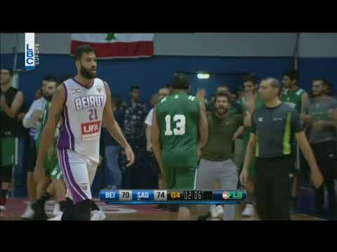 Beirut vs Sagesse - Alley oop Youngblood & Jackson + Replay