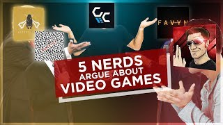 5 Nerds Arguing About the Best Video Games | ASO #5 Ft. Gamecheat13