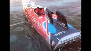 Colibri Didier Pironi class 1 offshore powerboat racing