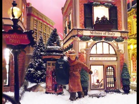 Christmas Snow Village - Dept. 56 & Lemax