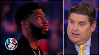 Anthony Davis trade to Lakers likely won't happen before deadline - Brian Windhorst | NBA Countdown